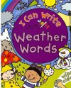 I Can Write Weather Words - Simon Abbott