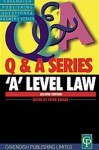 'A' Level Law Q&A - Shears Et Al, Penny Booth, Mary Collins, Jill Spencer, Peter Shears, Simon Payne
