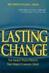Lasting Change - Rob Lebow, William L. Simon