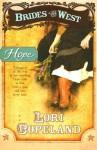 Hope (Brides of the West #3) (Repack) - Lori Copeland