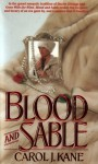 Blood Sable - Carol J. Kane