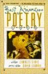 The Best American Poetry 1992 - Charles Simic, David Lehman