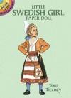 Little Swedish Girl Paper Doll - Tom Tierney