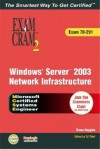 McSa/MCSE Implementing, Managing, and Maintaining a Windows Server 2003 Network Infrastructure Exam Cram 2 (Exam Cram 70-291) - Ed Tittel