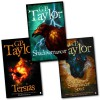 G.P. Taylor Series 3 Books Collection Pack Set Tersias shadowmancer - G P Taylor