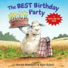The Best Birthday Party: A Touch-And-Feel Book - Serena Romanelli, Hans de Beer