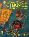 It Takes More Than Chance to Make Change - John Burroughs