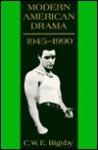 Modern American Drama, 1945 1990 - Christopher Bigsby