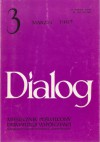 Dialog, nr 3 (484) / marzec 1997 - Krzysztof Piesiewicz, Krzysztof Kieślowski, Urs Widmer, Redakcja miesięcznika Dialog, Rafał Maciąg, Manfred Karge