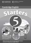 Cambridge Young Learners English Tests Starters 5 Answer Booklet: Examination Papers from the University of Cambridge ESOL Examinations - Cambridge University Press