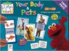 Elmo's World: Your Body & Pets Flashcards Twin Pack - Hinkler Books