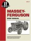 Massey-Ferguson Shop Manual: Models Mf135, Mf150, Mf165 (Manual Mf-27) - Clymer Publications