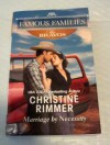 Marriage by Necessity - Christine Rimmer
