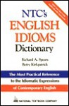 NTC's English Idioms Dictionary - Richard A. Spears, Betty Kirkpatrick