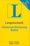 Langenscheidt Universal Dutch Dictionary: Dutch - English / English - Dutch - Langenscheidt
