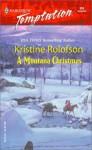 A Montana Christmas - Kristine Rolofson