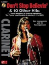 Don't Stop Believin' & 10 Hits from Former Lead Vocalist of Journey Steve Perry: For Clarinet - Journey, Steve Perry