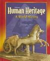 Glencoe Human Heritage: A World History - Miriam Greenblatt, Peter S Lemmo