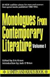 Monologues from Contemporary Literature - Eric Kraus