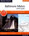 Rand Mc Nally 8th Edition Baltimore Metro Street Guide Including Baltimore, Anne Arundel, Carroll, Harford, And Howard Counties - Rand McNally