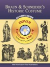 Braun & Schneider's Historic Costume CD-ROM and Book - Dover Publications Inc.