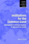 Institutions for the Common Good: International Protection Regimes in International Society - Steven Smith