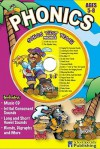 Phonics Sing Along Activity Book with CD: Songs That Teach Phonics (Sing Along Activity) - Kim Mitzo Thompson, Ken Carder