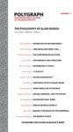 Polygraph 17: The Philosophy of Alain Badiou - Matthew Wilkens, Polygraph Editorial Collective, Peter Hallward, Oliver Feltham, B. Madison Mount, Jason Barker, Oliver Marchart, Lindsey Hair, Andrew Gibson, Elie During, Nico Baumbach, Stefan Herbrechter, Bruno Bosteels, Bruno Besana, Eric Alliez, Carsten Strathausen,