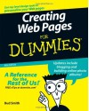 Creating Web Pages For Dummies - Bud E. Smith, Arthur Bebak