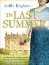The Last Summer - Judith Kinghorn, Jane Wymark