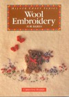 Wool Embroidery for Babies - Christine Harris
