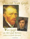 Van Gogh on Art and Artists: Letters to Emile Bernard - Vincent van Gogh, Douglas Cooper, Douglas Lord
