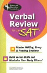 Verbal Review for the SAT - Research & Education Association, Staff of Research and Education Associat, Dana Passananti