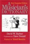 A Musician's Dictionary - David W. Barber, Dave Donald, Yehudi Menuhin