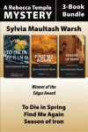 Rebecca Temple Mysteries 3-Book Bundle - Sylvia Maultash Warsh