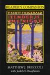Reader's Companion to F. Scott Fitzgerald's Tender Is the Night - Matthew J. Bruccoli, Judith S. Baughman