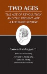 The Two Ages (Kierkegaard's Writings, Volume 14) - Søren Kierkegaard, Edna Hatlestad Hong, Howard Vincent Hong