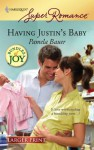 Having Justin's Baby - Pamela Bauer