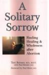 A Solitary Sorrow - Teri Reisser, Paul Reisser