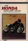 Honda Cb350-550Cc Sohc Fours, 1971-1978 (Clymer Motorcycle Repair Series) (Clymer Manuals: Motorcycle Repair) - Clymer Publications