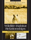 Wildlife-Habitat Relationships: Concepts and Applications - Michael Morrison, Bruce G. Marcot, R. William Mannan, Bruce Marcot, William Mannan