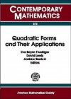 Quadratic Forms And Their Applications: Qf 99: Proceedings Of The Conference On Quadratic Forms And Their Applications, July 5 9, 1999, University College Dublin - Conference on Quadratic Forms and Their Applications (1999 : University College Dublin), David Lewis, Eva Bayer-Fluckiger, Conference on Quadratic Forms and Their