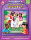 Fun Faith-builders: Fill-in-the-blank Bible Fun, Grade Level 4-6 - Sharon Thompson, Carson-Dellosa Christian Publishing Co., Inc.