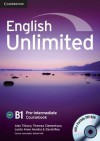 English Unlimited Pre Intermediate Coursebook With E Portfolio - Alex Tilbury, Theresa Clementson, Adrian Doff, Leslie Anne Hendra, David Rea