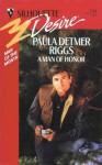 A Man Of Honor - Paula Detmer Riggs