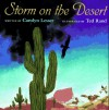 Storm on the Desert - Carolyn Lesser, Ted Rand