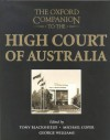 The Oxford Companion To The High Court Of Australia - George Williams
