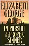 In Pursuit of the Proper Sinner (Inspector Lynley, #10) - Elizabeth George, Derek Jacobi