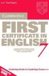 Cambridge First Certificate in English 7 - Cambridge ESOL
