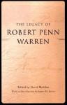 The Legacy of Robert Penn Warren - David Madden